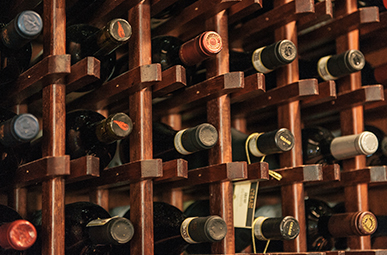 picture of wine bottles